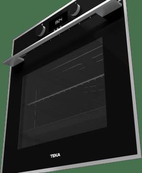 Horno Teka HLB 830 de 60 cm A+ en Cristal Negro con 6 funciones de cocción a 5 alturas - 4