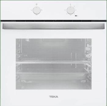 Horno Convencional Teka HBB 490 de 60 cm A Blanco con 3 funciones de cocción a 5 alturas