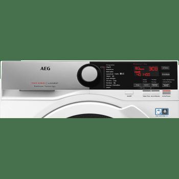 Lavadora Inverter AEG L7FEE841 Blanca de 8KG 1400rpm A+++ -30% | Tecnología ProSteam + ProSense | Serie 7000 - 4