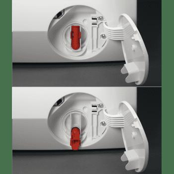 Lavadora Inverter AEG L7FEE841 Blanca de 8KG 1400rpm A+++ -30% | Tecnología ProSteam + ProSense | Serie 7000 - 5