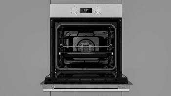 Horno Teka HSB 620 P Pirolítico Blanco de 60 cm con 8 funciones de cocción a 5 alturas Clase A+ - 8