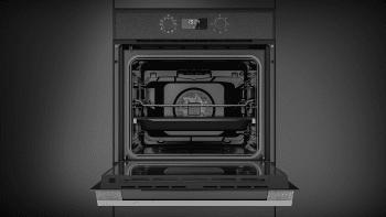 Horno Teka HSB 620 P Pirolítico Negro de 60 cm con 8 funciones de cocción a 5 alturas Clase A+ - 7