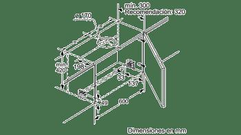 BALAY 3BT860X CAMPANA TELESCOPICA INOX 60CM 740M3/H A - 3