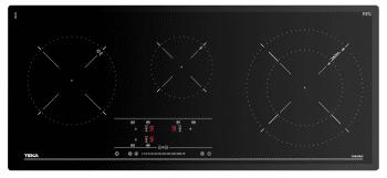 Placa de Induccion Teka IR 9330 HS (Ref. 10210165) de 90cm | Touch Control Slider | Biselada | 3 zonas