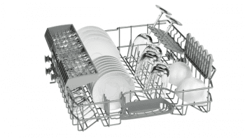 Lavavajillas Bosch SMS40E38EU Inoxidable de 60 cm para 12 Servicios | Motor Ecosilence A+ | Serie 2 - 4