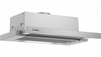 Campana Telescópica Bosch DFT63AC50 Plateada de 60 cm a 368 m³/h | Clase D | Serie 4 | Stock
