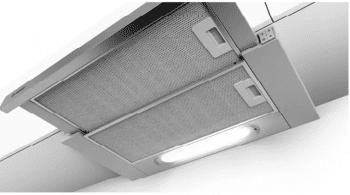 Campana Telescópica Bosch DFT63AC50 Plateada de 60 cm a 368 m³/h   Clase D   Serie 4   Stock - 2