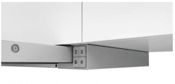 Campana Telescópica Bosch DFT63AC50 Plateada de 60 cm a 368 m³/h   Clase D   Serie 4   Stock - 3