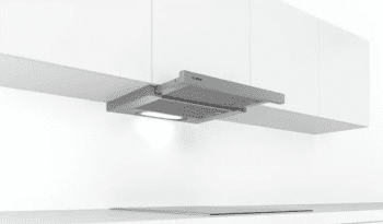 Campana Telescópica Bosch DFT63AC50 Plateada de 60 cm a 368 m³/h   Clase D   Serie 4   Stock - 4