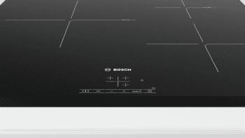 Placa de Inducción Bosch PIJ651BB2E   60 cm   3 Zonas   17 niveles de cocción   función Sprint   TouchSelect   Serie 4   Biselada - 2