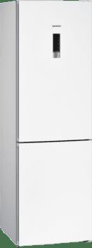 Frigorífico Combi Siemens KG36NXWEA Blanco de 186 x 60 cm No Frost | Zona hyperFresh | Clase E | iQ300