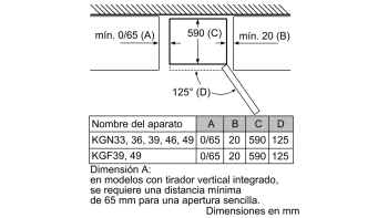 BALAY 3KR7867XE COMBI INOX NO FROST 203x60CM A++ SKIN CONDENSER - 17