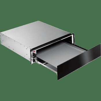 AEG KDE911424B Cajón Calientaplatos Negro Cristao Combinable con Hornos Compactos AEG