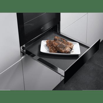 AEG KDE911424B Cajón Calientaplatos Negro Cristao Combinable con Hornos Compactos AEG - 3