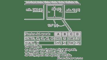 BALAY 3KF6653MI COMBI ACERO MATE NO FROST 186X60CM A++ SKIN CONDENSER - 7