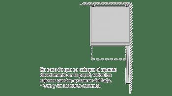 BALAY 3KF6653MI COMBI ACERO MATE NO FROST 186X60CM A++ SKIN CONDENSER - 9