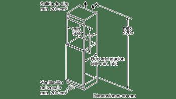Congelador Integrable Balay 3GI1047S Instalación Bajo Encimera 72x56CM Cíclico | A++ - 5