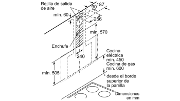 BALAY 3BC497GN CAMPANA VERTICAL CRISTAL NEGRO 90CM 730M3/H SERIE CRISTAL - 3