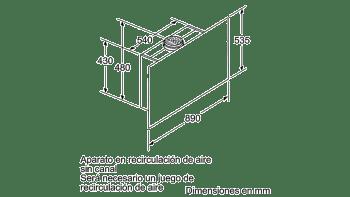 BALAY 3BC497GN CAMPANA VERTICAL CRISTAL NEGRO 90CM 730M3/H SERIE CRISTAL - 6