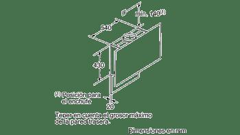 BALAY 3BC497GN CAMPANA VERTICAL CRISTAL NEGRO 90CM 730M3/H SERIE CRISTAL - 7