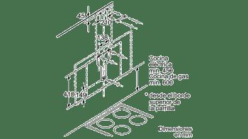 BALAY 3BC497GB CAMPANA VERTICAL CRISTAL BLANCO 90CM 730M3/H SERIE CRISTAL - 10