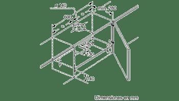 BALAY 3BT263MB CAMPANA TELESCOPICA BLANCA 60CM 360M3/H - 3