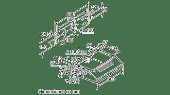 BALAY 3BH263MB CAMPANA CONVENCIONAL BLANCA 60CM 350M3/H - 4