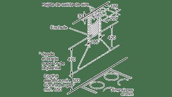 BALAY 3BC663MX CAMPANA INOX 60CM 380M3/H - 6