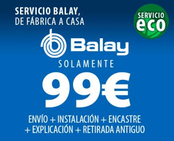 BALAY 3BC565GB CAMPANA CRISTAL BLANCO INCLINADA 60CM 530M3/H - 2
