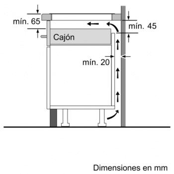 Placa de Inducción Siemens EU631BJB2E de 70 cm   Función boost   Control lightSlider   Control aceite fryingSensor   iQ300 - 7