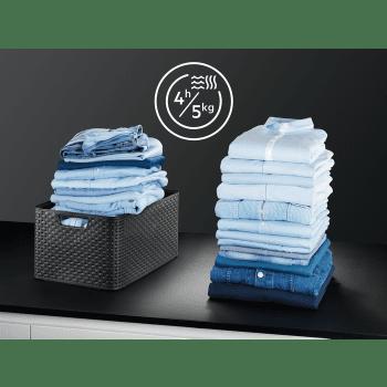 Lavasecadora Acero Inoxidable AEG L8WEC162S Lavado 10kg Función Secado 6kg Bomba de Calor 1600rpm A-40% DualSense | Serie 8000 - 2