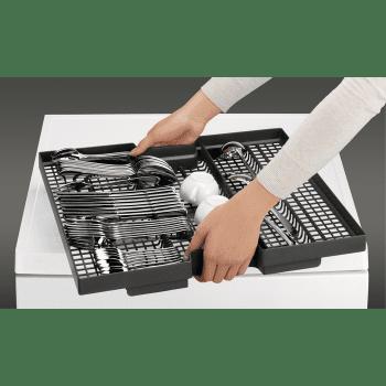 Lavavajillas AEG FFB63700PM Inox XXL Inverter AirDry Timesaver SoftSpikes SoftGrip 15 Cubiertos Tercera Bandeja 44dB A+++ - 5