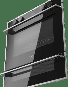 Horno Teka Doublecook HLD 45.15 en Cristal Negro de 60 cm con 2 cavidades para cocinar Clase A - 4