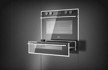 Horno Teka Doublecook HLD 45.15 en Cristal Negro de 60 cm con 2 cavidades para cocinar Clase A - 10