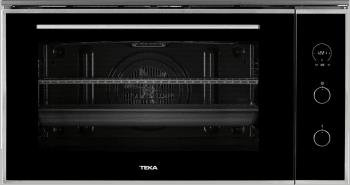 Horno Teka HLF 940 de 90cm con 77L en Cristal Negro con 9 funciones de cocción a 5 alturas Clase A