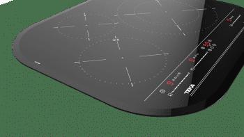 Placa de Inducción Teka IRC 6320  (Ref. 10210207) de 59cm | 3 zonas | Cantos Circulares | Regulación Independiente | Stock - 4