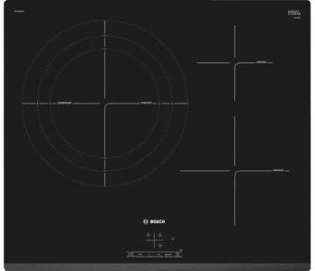 Placa de Inducción Bosch PID631BB3E de 60 cm con 3 Zonas de cocción | Función Sprint | TouchSelect | Serie 4 | Biselada