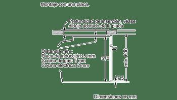 Horno Pirolítico Balay 3HB5888N0 | Cristal Negro | Abatible | Clase A  | Serie Cristal - 3