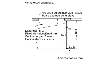 BALAY 3HB4331N0 HORNO NEGRO MULTIFUNCION ABATIBLE A SERIE ACERO - 3