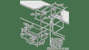 Horno Balay 3CB5878B0 Blanco Pirolítico de 60 cm con 12 funciones | 10 recetas preprogramadas AutoChef | Clase A - 3