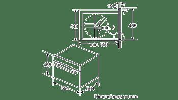 Horno Compacto con Vapor y Microondas Balay 3CH5656A0 | Cristal Gris | 45cm de Altura | Clase A+ - 4