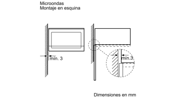 BALAY 3CP4002X0 MICROONDAS CRISTAL NEGRO INOX SIN GRILL 20L SERIE ACERO - 4