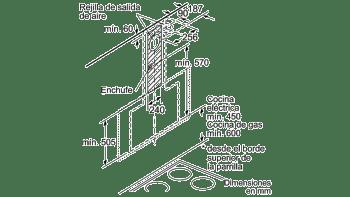BALAY 3BC497GG CAMPANA VERTICAL CRISTAL GRIS ANTRACITA 90CM 730M3/H SERIE CRISTAL - 12