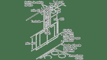 BALAY 3BC587GB CAMPANA INCLINADA CRISTAL BLANCO 80CM 680M3/H SERIE CRISTAL - 8