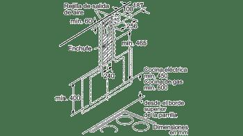 BALAY 3BC567GB CAMPANA INCLINADA CRISTAL BLANCO 60CM 660M3/H SERIE CRISTAL - 13