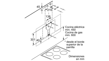 BALAY 3BC567GG CAMPANA INCLINADA CRISTAL GRIS ANTRACITA 60CM 660M3/H SERIE CRISTAL - 6