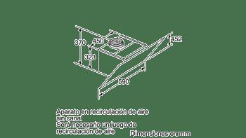 BALAY 3BC567GG CAMPANA INCLINADA CRISTAL GRIS ANTRACITA 60CM 660M3/H SERIE CRISTAL - 10