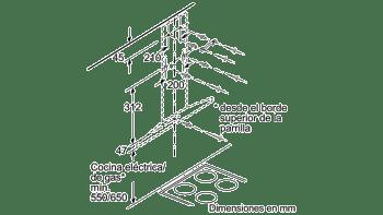 BALAY 3BC697EX CAMPANA INOX 90CM 750M3/H - 9