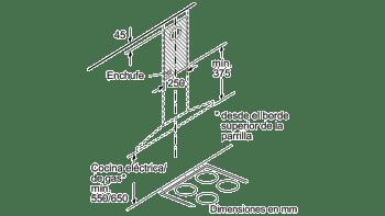 BALAY 3BC677EX CAMPANA INOX 75CM 750M3/H - 9