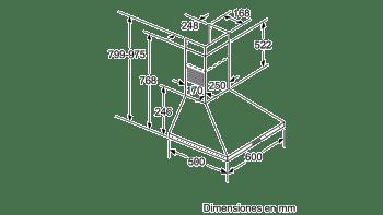 BALAY 3BC666MX CAMPANA INOX 60CM 570M3/H - 7